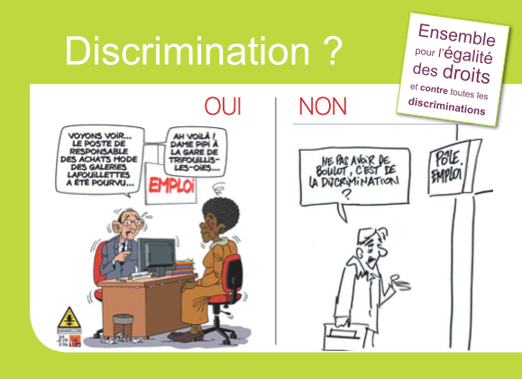 lutter contre les discriminations didac ressources. Black Bedroom Furniture Sets. Home Design Ideas